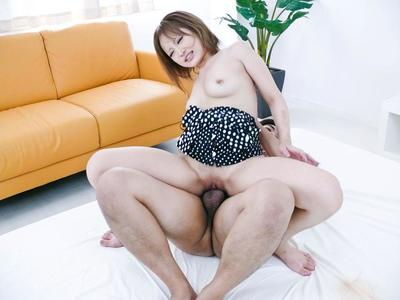 Ai Shirosakia is a sweet Asian who loves interracial sex and feasting on cum shots