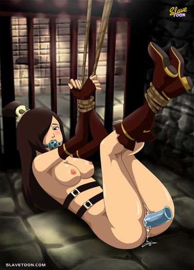 Sexy brunette loves rough fuck and BDSM games