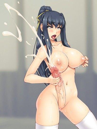 Cumming hentai sheamels