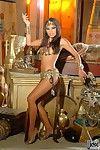 The beautiful Asian chick Kaylani Lei shows the incredible body treasures