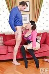 Asian milf Tigerr Benson has her long slim feet licked out nicely
