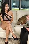 Arousing Asian honey Jessica Bangkok gets impaled hardcore on a fat lover rod in bed.