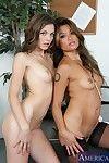 Asian lesbian babe Charmane Star wants to make her GF Kiera Winters cum real hard.