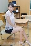 Excited Yui Oba enjoys in showing her blowing skills even as fellatio exam in species