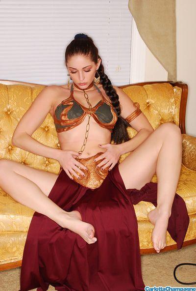 لطيف و رائع الليل الظلام في سن المراهقة كارلوتا الشمبانيا مع اكيد المؤخر هو هنا إلى المزيفة لها المغفلون